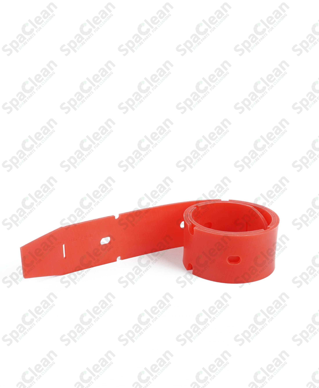 Резина сквиджа передняя 882x54x4 Полиуретан 50SH Красная