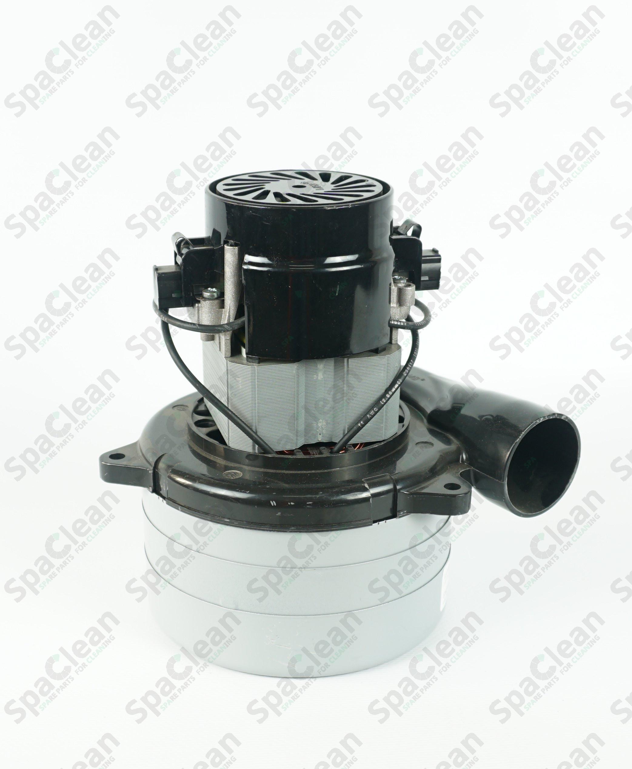 Мотор вакуумный 24V 650W Трехстадийный для Tennant 5540