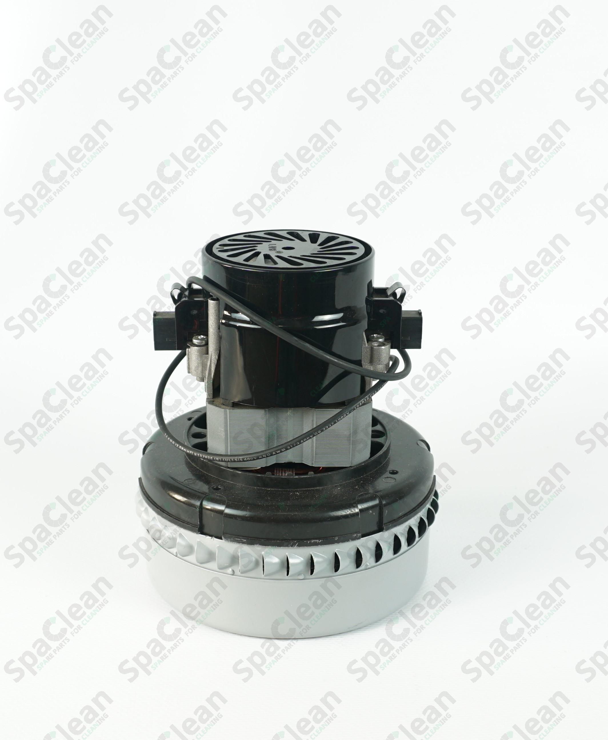 Мотор вакуумный 24V 480W Двухстадийный для Wetrok Duomatic C43