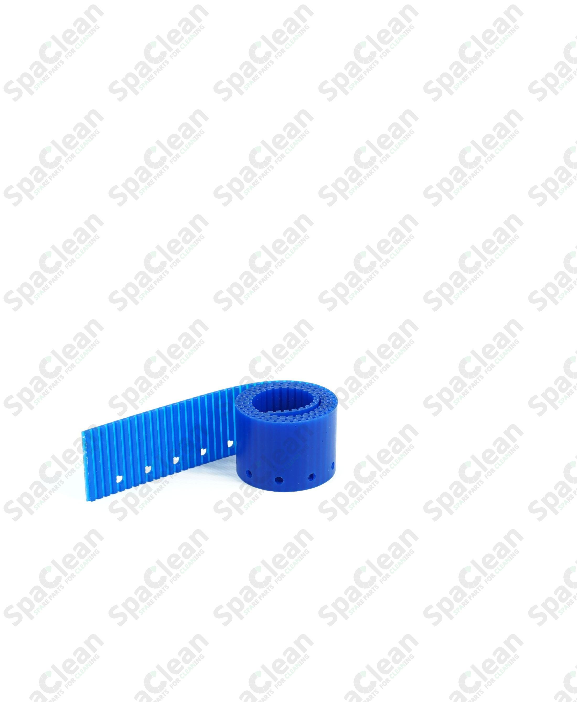 Резина сквиджа задняя 725x46x3 Полиуретан 50SH Синяя