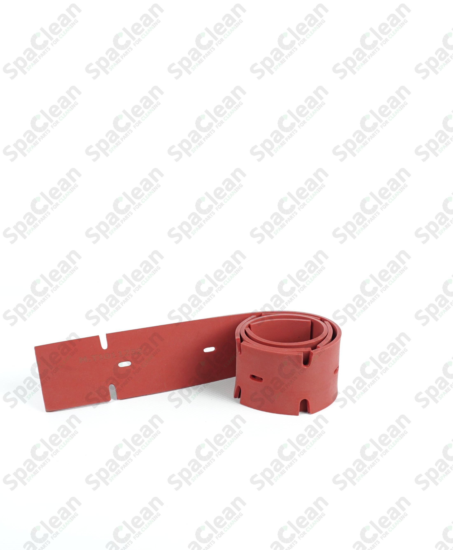 Резина сквиджа передняя 784x49x3 Резина 35SH Красная