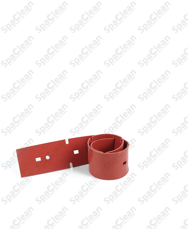 Резина сквиджа 537x50x2 Резина 35SH Красная