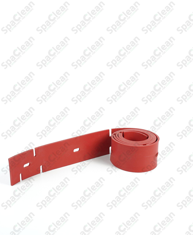 Резина сквиджа передняя 1237x49x3 Красная