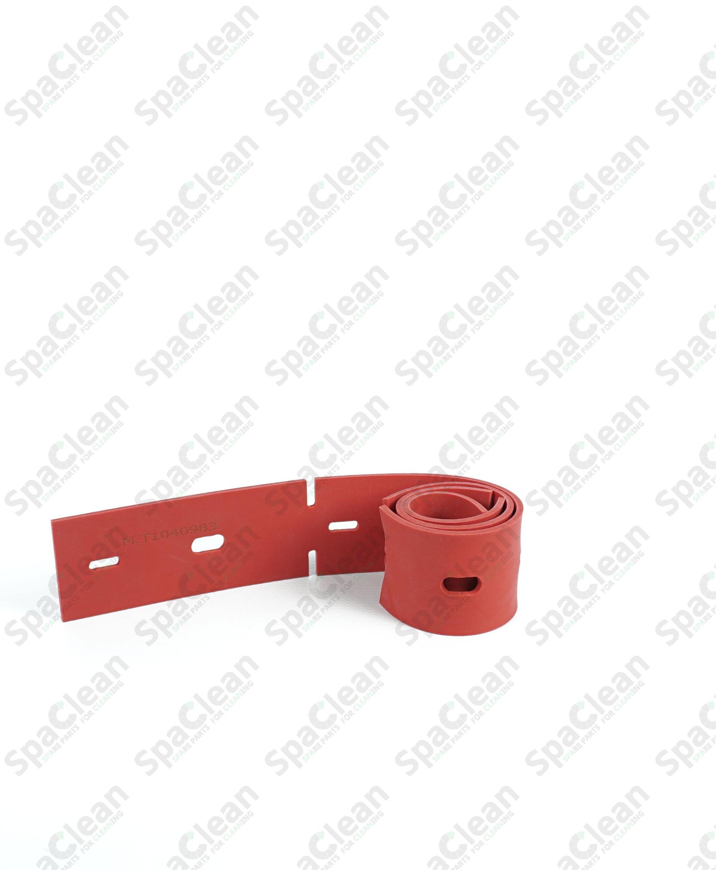 Резина сквиджа передняя 681x51x3 Резина 35SH Красная