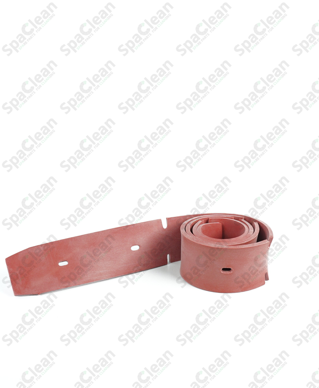 Резина сквиджа передняя 1052x50x4 Резина 35SH Красная