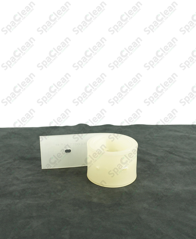 Резина сквиджа задняя 750x55x4 Полиуретан Прозрачная
