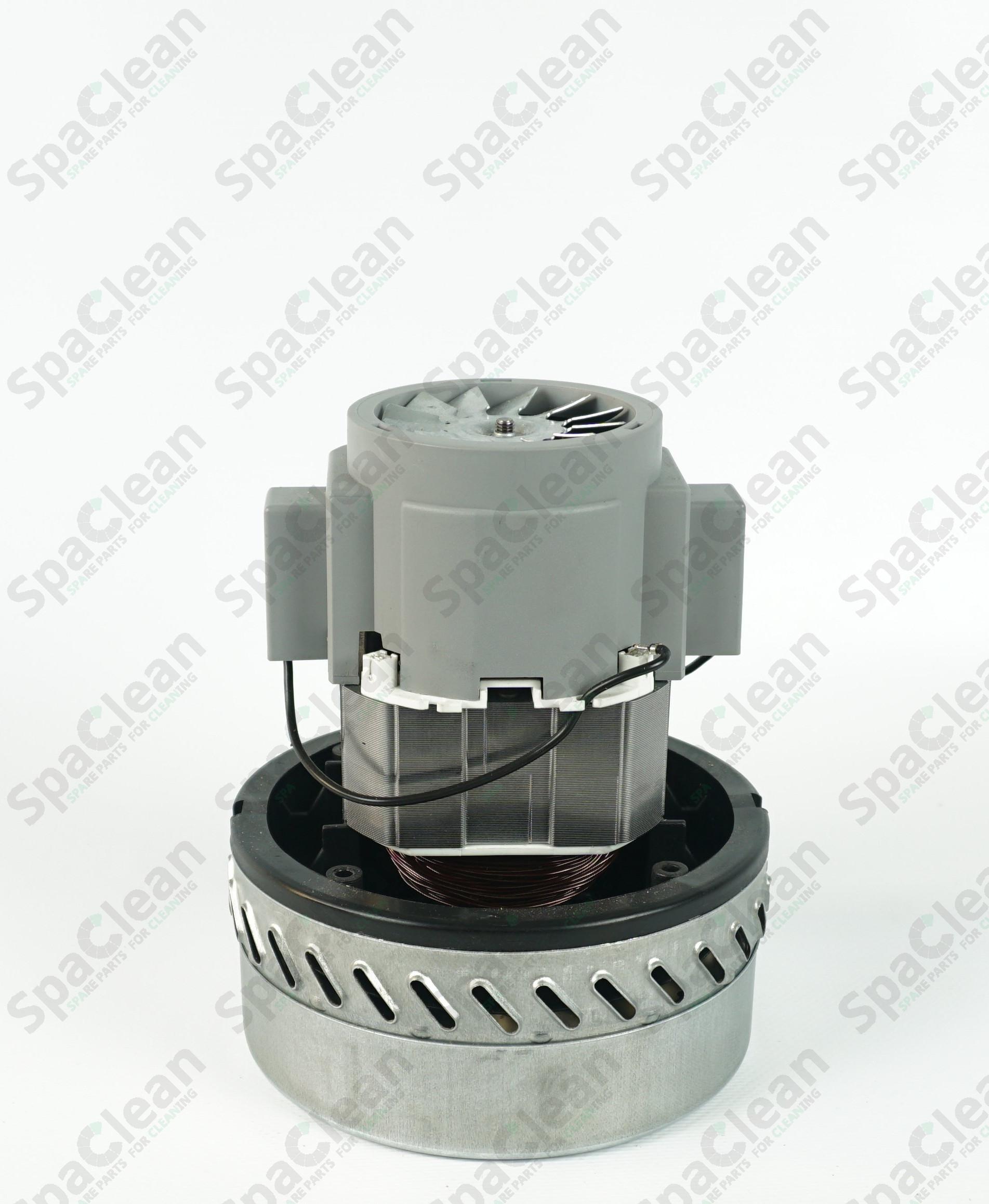 Вакуумный мотор Ametek 230V 1200W Двухстадийный для Wetrok Duovac 18