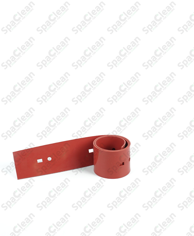 Резина сквиджа 595x50x2 Резина 35SH Красная