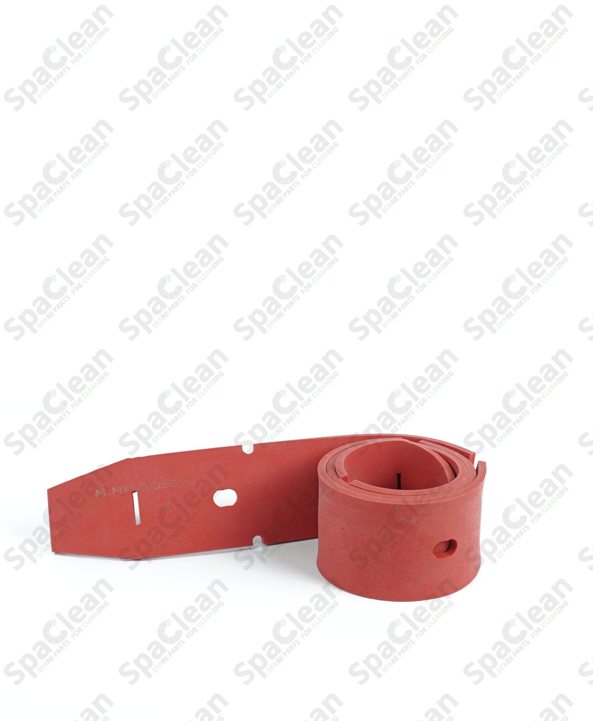Резина сквиджа 882х54х4 передняя красная