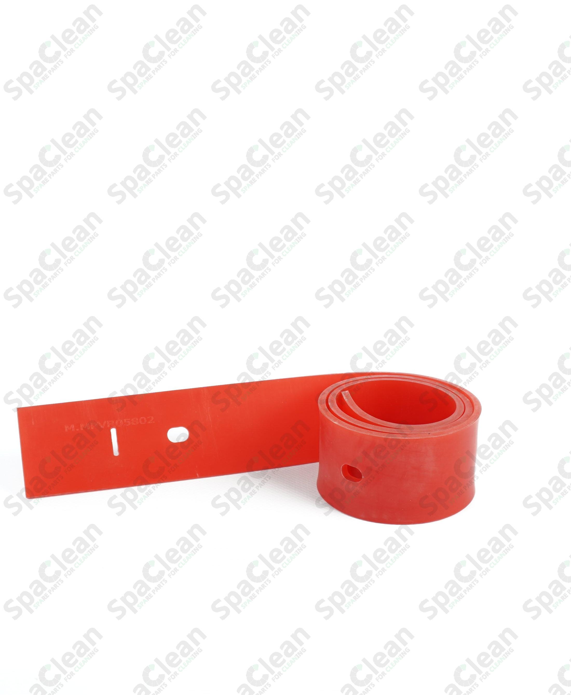 Резина сквиджа задняя 900x55x4 Полиуретан 50SH Красная