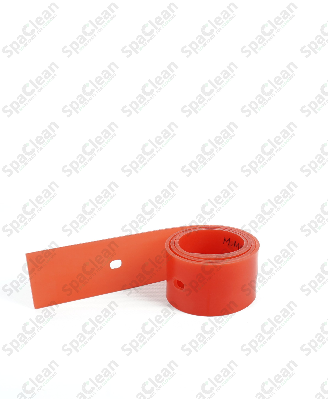 Резина сквиджа задняя 1020x54x3 Полиуретан 50SH Красная