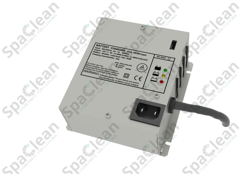 NE244S Встраиваемое зарядное устройство 12V 8A 50÷85 Ah IUia