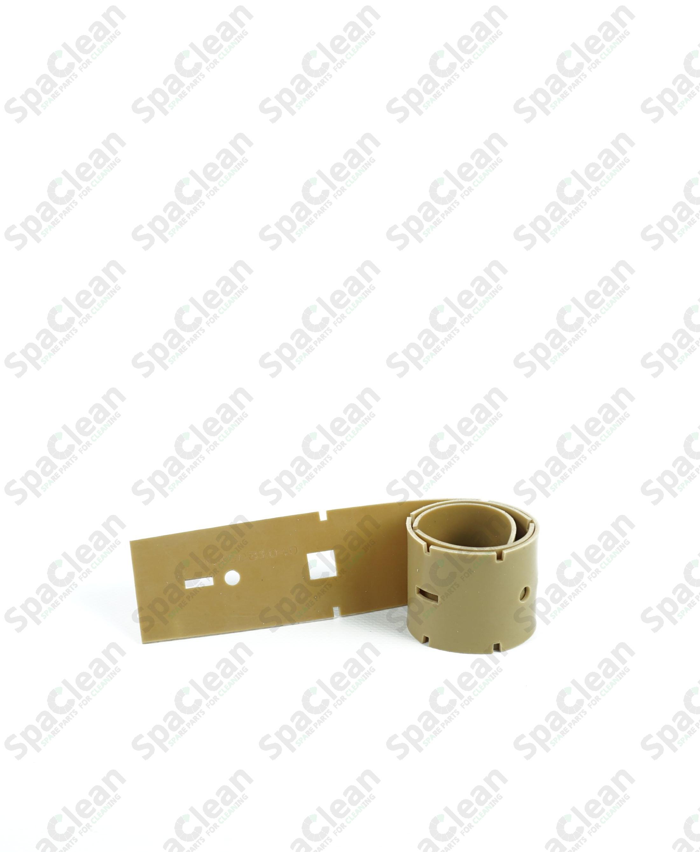 Резина сквиджа передняя 537x50x2.5 Бежевая
