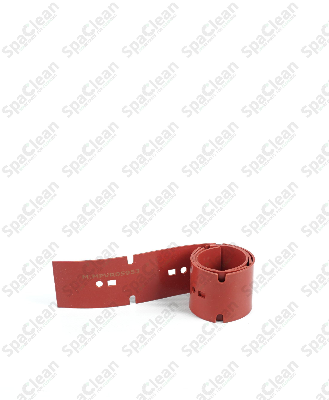 Резина сквиджа 658x50x2 Резина 35SH Красная